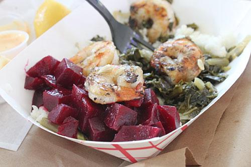 shrimp-beets