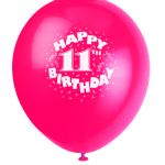 Alexandria turns 11 — three-day party!