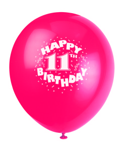 11th birthday balloon