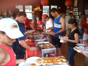 Rowers love Rocklands barbeque