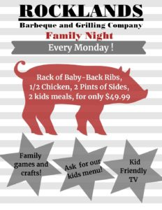Family Night @ ROCKLANDS DC