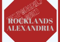 Alexandria Rocklands closed until Tuesday