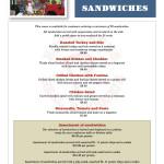 Sandwiches, getcher sandwiches!