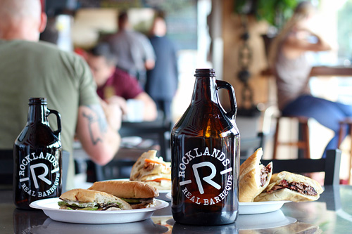 Rocklands growlers come in two sizes