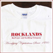 Rocklands Horrifying Vegetarians T-shirt