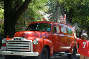 Old Red Rocklands Truck