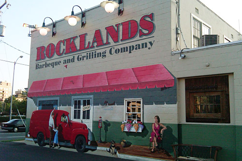 Rocklands Arlington mural