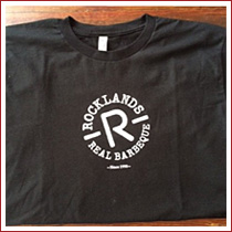Rocklands logo T-shirt in black