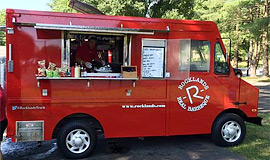 Big red Rocklands Food Truck
