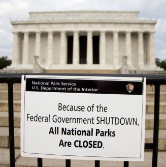 closed because of shutdown